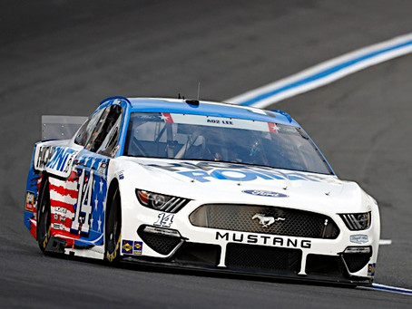 Briscoe finishes 23rd at Charlotte
