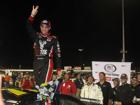 Three in a row for rookie Briscoe; wins Sioux Chief PowerPex 200 at Lucas Oil