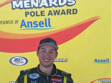 Briscoe takes pole for Kentuckiana Ford Dealers ARCA 200