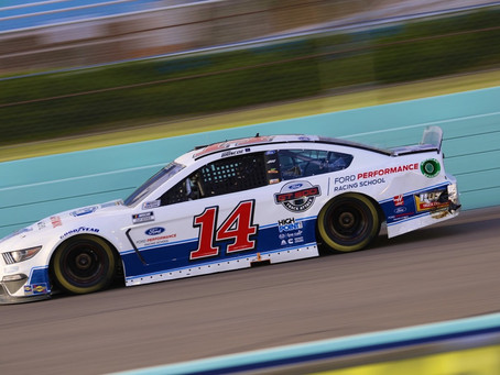Briscoe Gets Second Top-20 in Third Cup Start