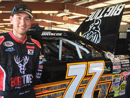 Briscoe, Townley, Finley top practice charts at Chicagoland