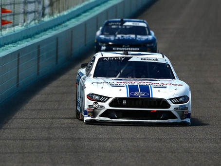 CHASE BRISCOE – 2020 NXS HOMESTEAD I RACE REPORT