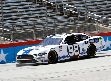 CHASE BRISCOE – 2020 NXS TEXAS I RACE REPORT