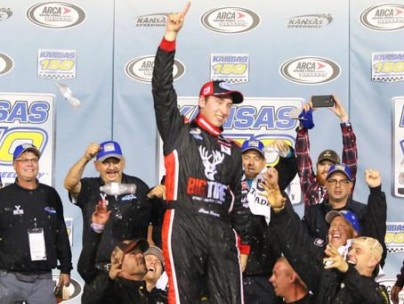 Briscoe wins Kansas 150; secures ARCA championship