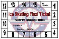 Flexi ticket ice skating offer