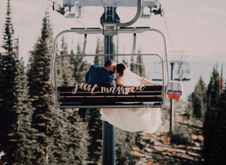 Whitefish wedding at Big Mountain
