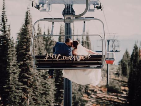 Whitefish wedding at Big Mountain