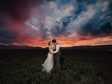 Joe & Jorid - Bozeman Wedding at Weather Rock Barn