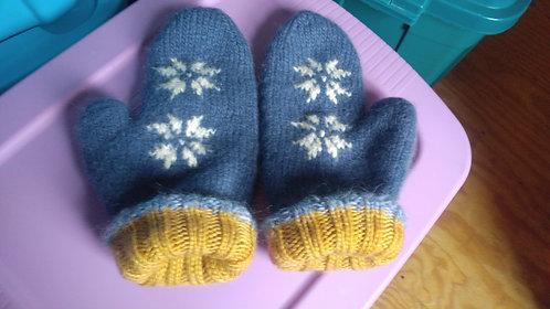 Doubleknit mittens