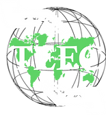 TEFC Logo 2 hands holding the globe