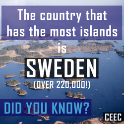most islands