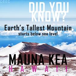 tallest mountain