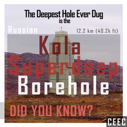 deepest hole ever dug