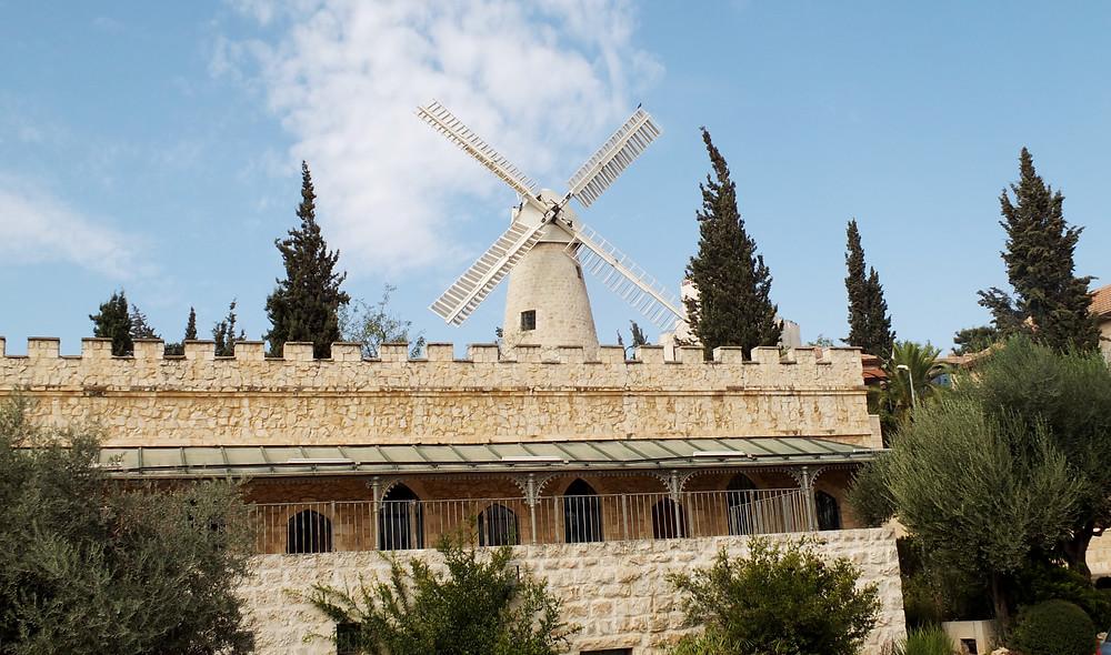 Die Reihenhäuser-Wohnungen in Mishkenot Sha'ananim