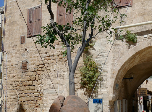 Moderne Kunst in Jaffa