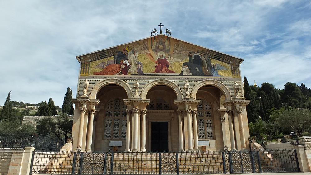Gethsemane Kirche, Kirche aller Nationen, Kirche der Agonie in Jerusalem
