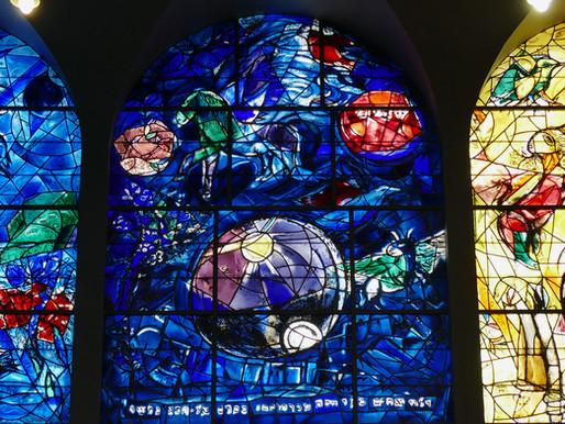 Chagall Fenster in Jerusalem