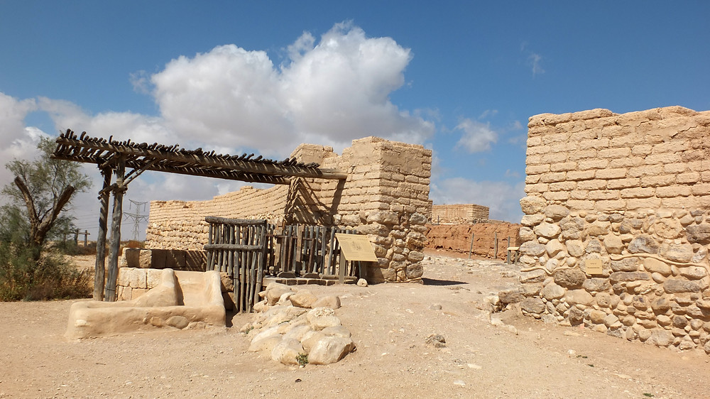 Abrahams Brunnen, Tel Beer Sheva  in der Negev Wüste, Israel
