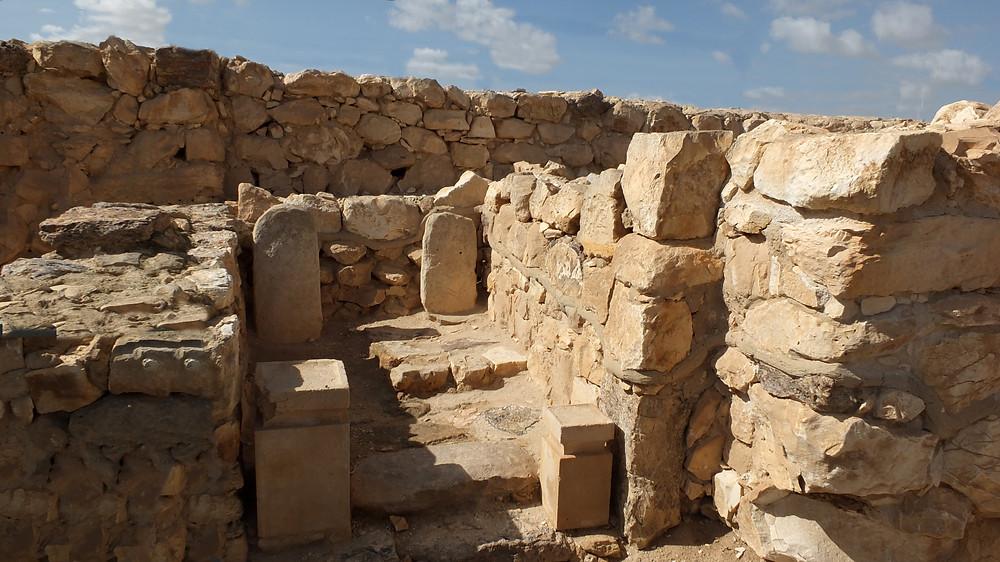 Tempel von Tel Arad, Israel