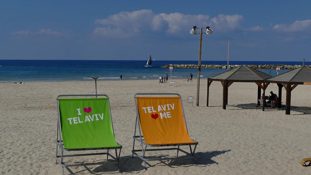 Strand von Tel Aviv https://www.israel-reiseleiter.com/tel-aviv