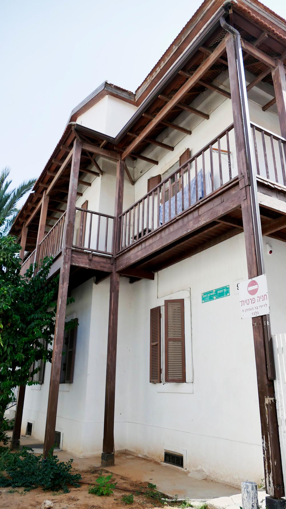 Gemeindehaus der Templer