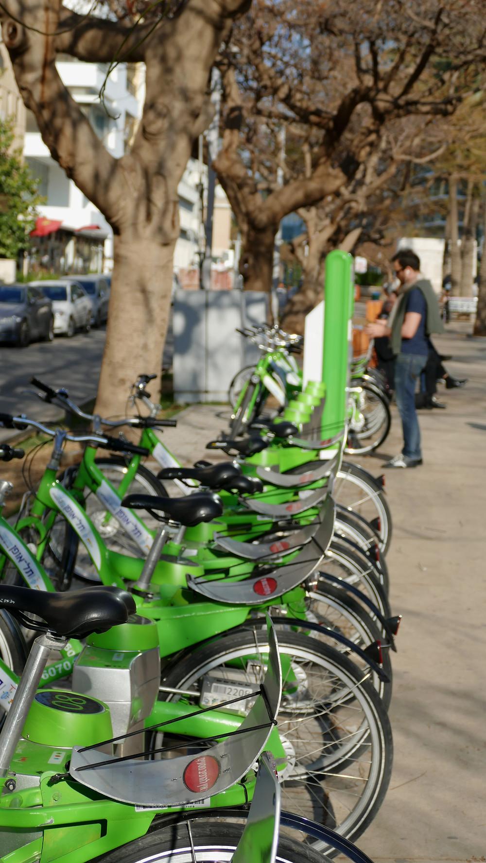 Tel-o-Fun - grün durch Tel Aviv