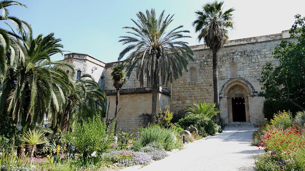 Abu Ghosh Kirche mit Garten, das biblische Emmaus