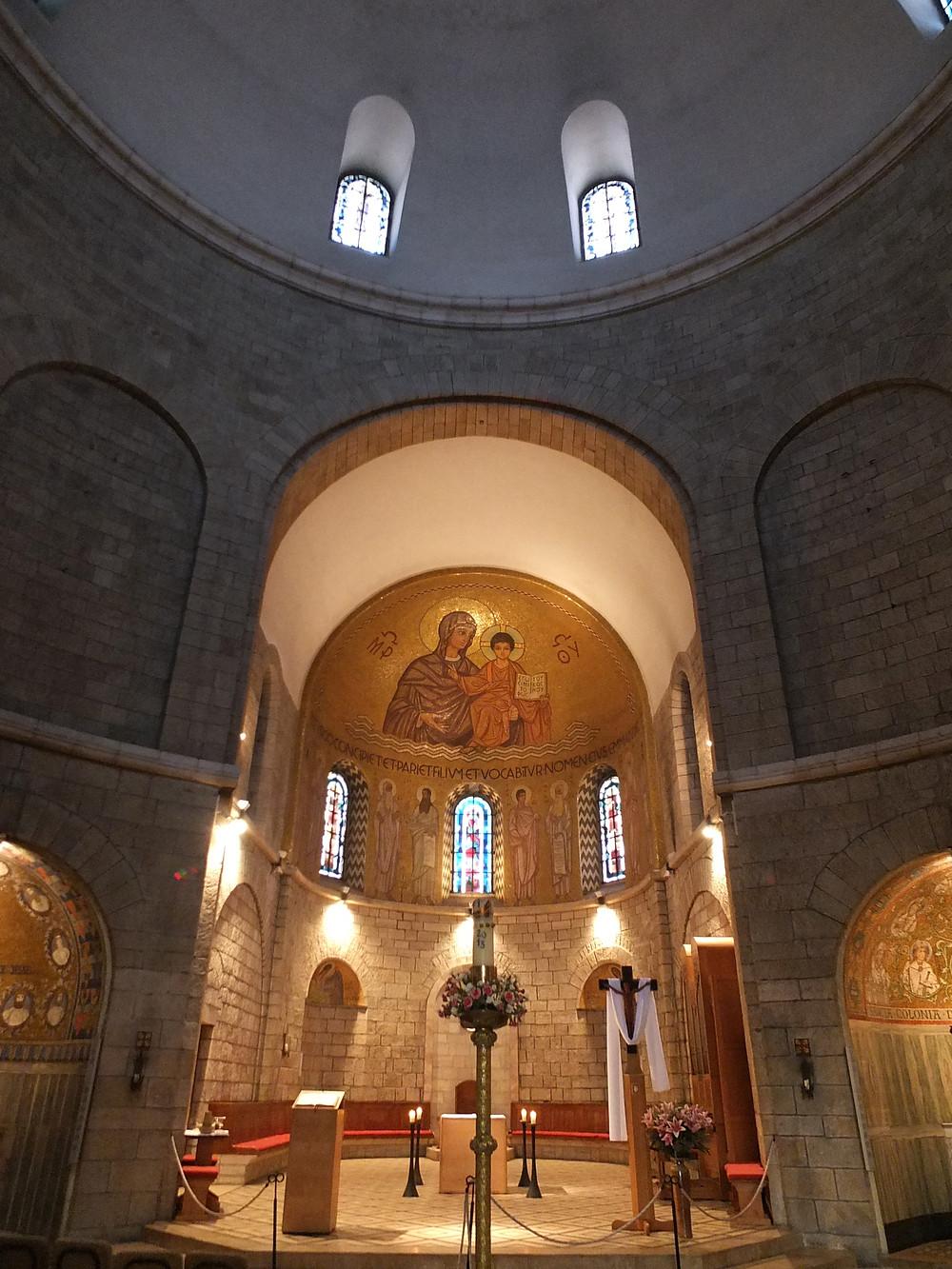 Jerusalem Zionsberg, Dormtio Abtei Oberkirche