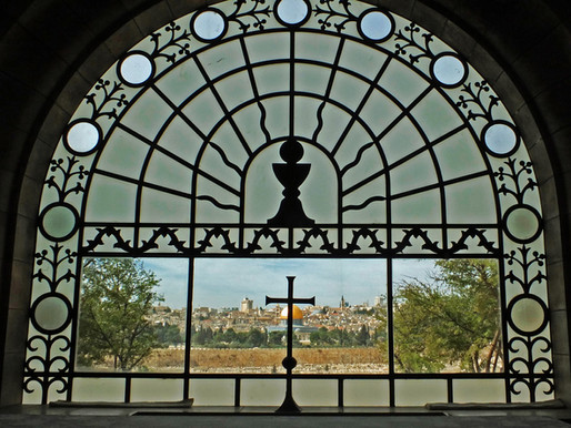 Jerusalem: Dominus Flevit - der Herr weinte