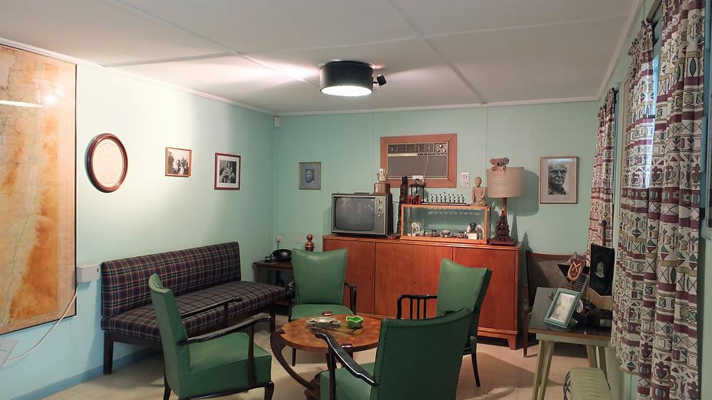 Wohnzimmer im Ben Gurion Haus