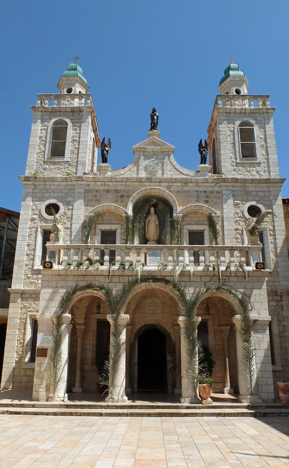 Katholische Hochzeitskirche in Kfar Kana, Israel