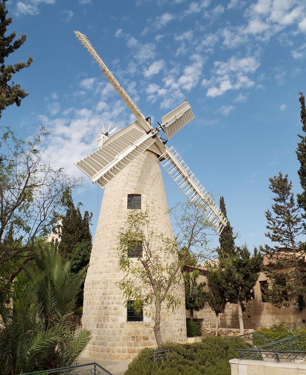 Die englische Montefiore Windmühle
