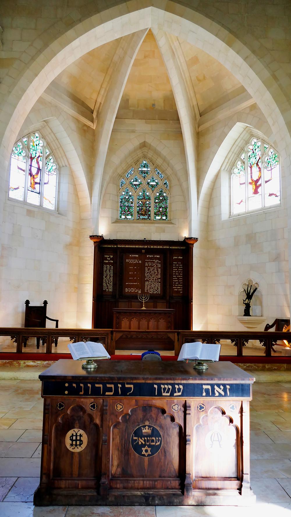 Stadtführung Jerusalem Hebräisch in der Christuskirche