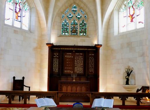 Christ Church in Jerusalem – nicht nur zum Kaffee trinken