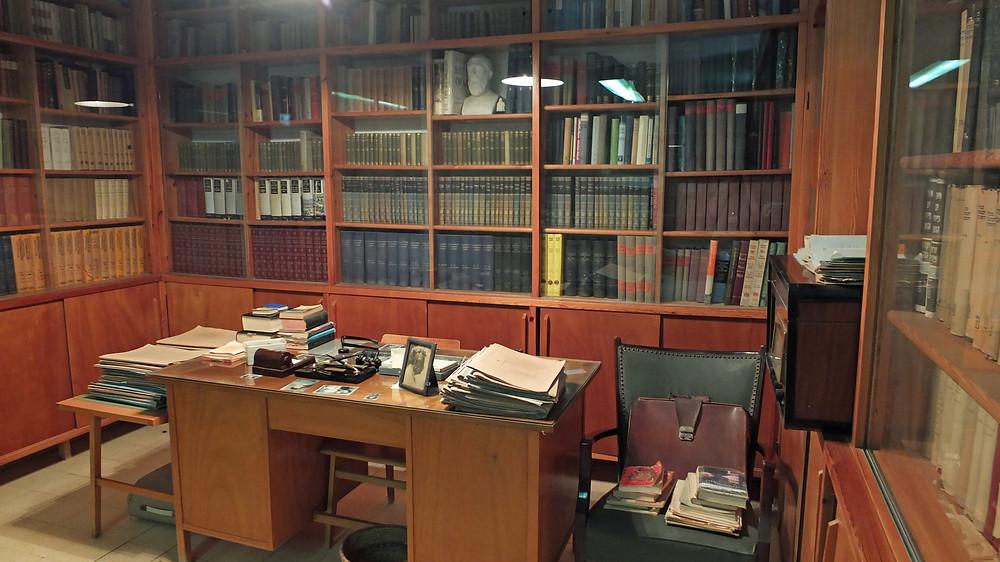 Bücherei und Büro von David Ben Gurion