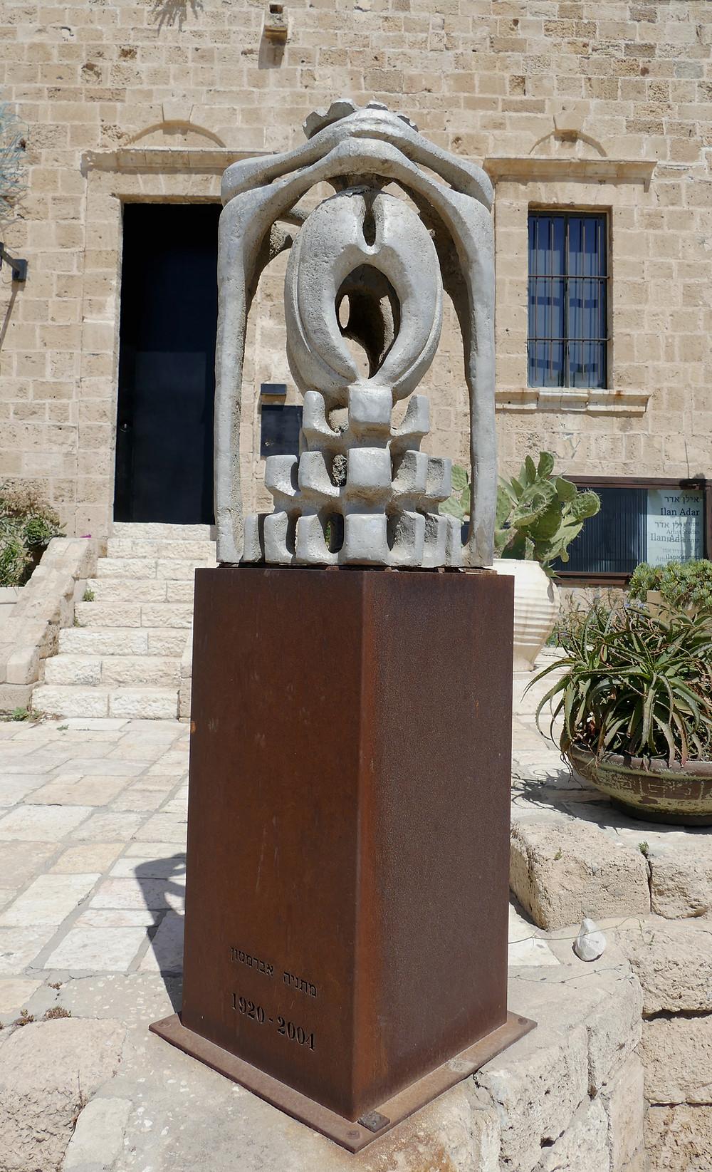 Matanya Abramson Skulptur in Jaffa