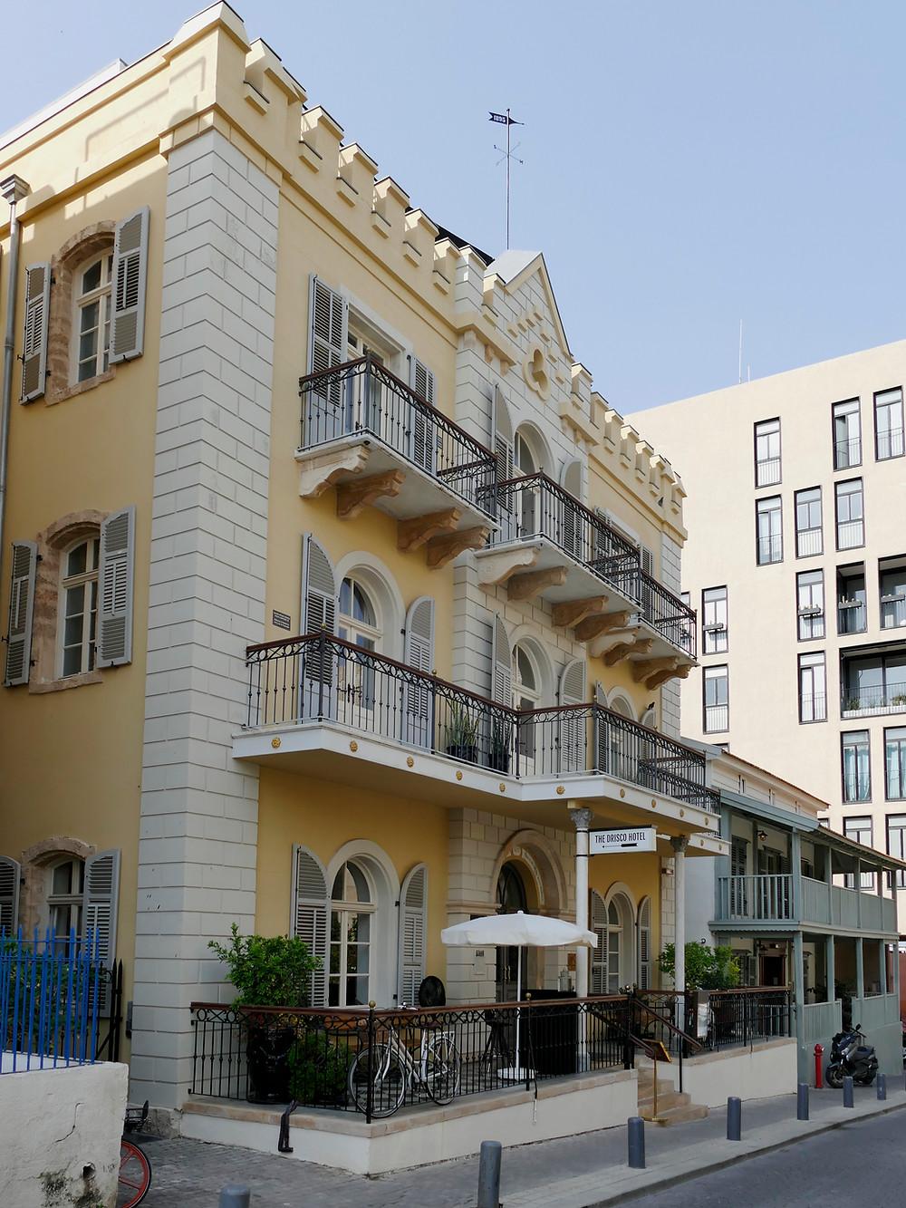 Norton Haus und Drisco Hotel (Jerusalem Hotel) in Jaffa