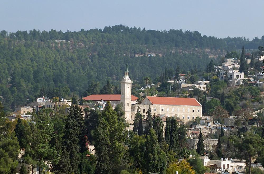 Ein Karem, Blick von der Kirche der Heimsuchung