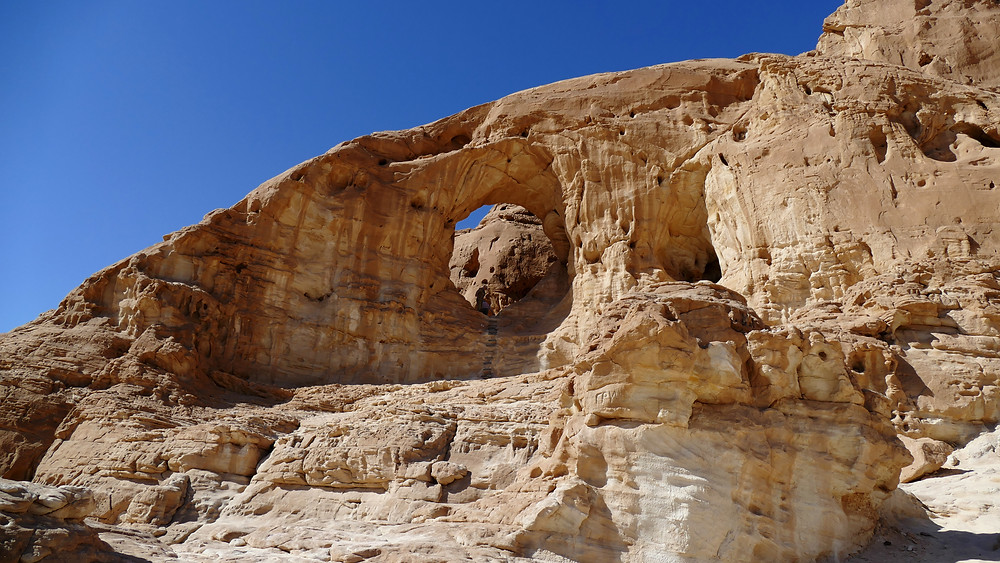 """Klettern in Timna: """"The Arches"""""""