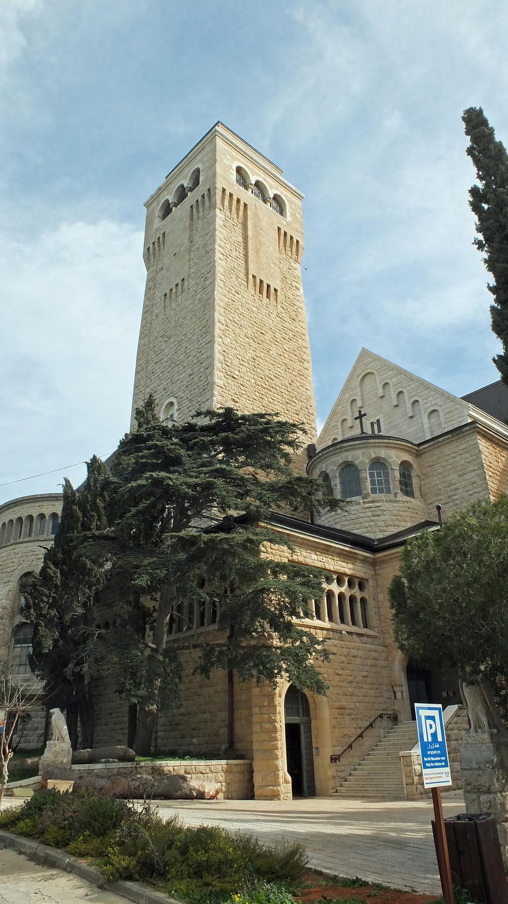 Auguste Viktoria Kirche und Krankenhaus