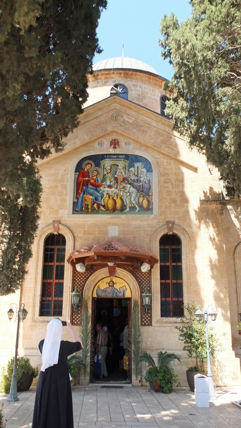 Griechisch-Orthodoxe Hochzeitskirche in Kfar Kana, Israel