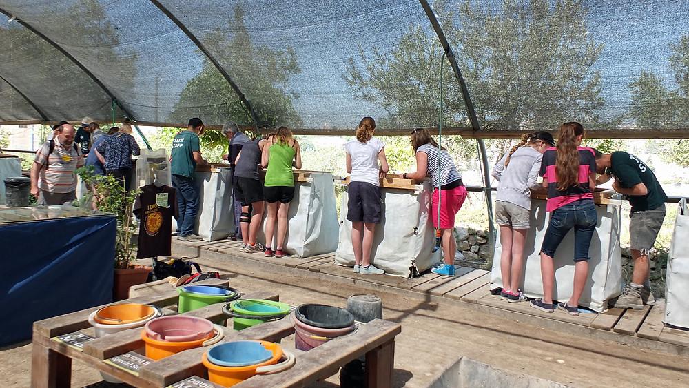 Archäoligisches Erlebnis im Tal Zurim Nat. Park Jerusalem