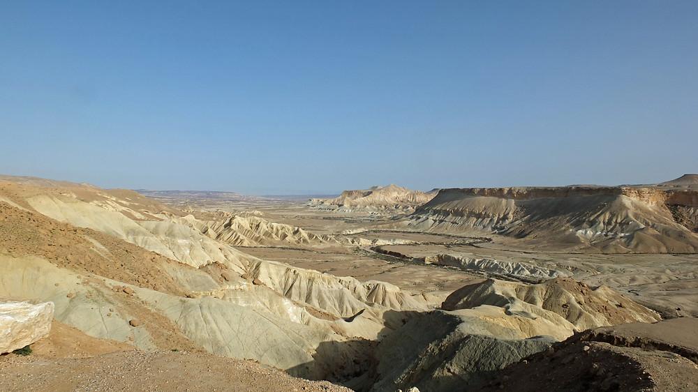 Wüste Zin im Negev