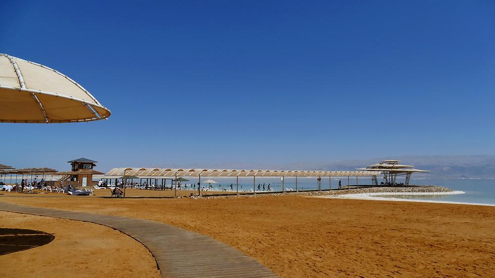 Öffentlicher kostenloser Strand in Ein Bokeq