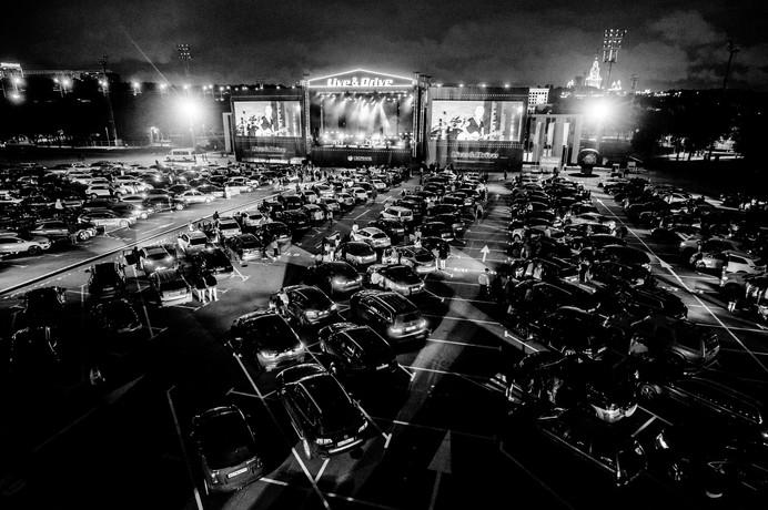 Ночные Снайперы   Live & Drive   2020