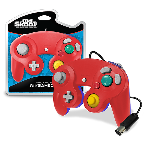 GameCube Controller - Red/Blue