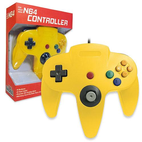 N64 Controller - Yellow