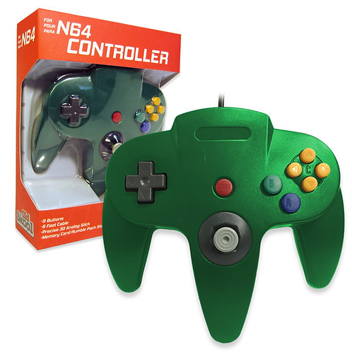N64 Controller - Green