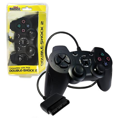 Double-Shock PS2 Controller - Black