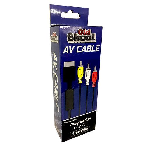 PlayStation 1/2/3 AV Cable